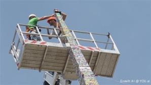Ein Kinderspiel ist das bestimmt nicht. In Mailand ist am Wochenende der höchste Lego-Turm der Welt...
